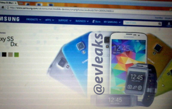 Galaxy S5 mini picture leaks