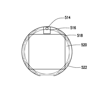 Samsung patent wearable 1