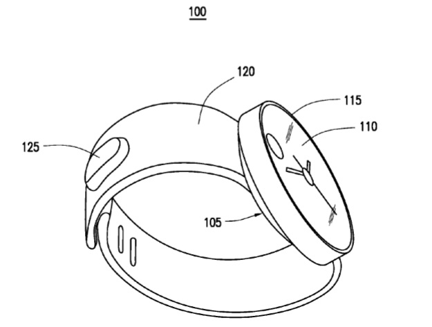 Samsung patent wearable