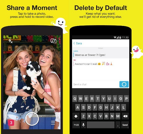 Snapchat-instant-messaging-update