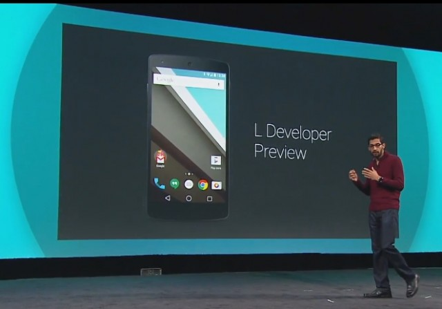 Android L Developer Preview Release