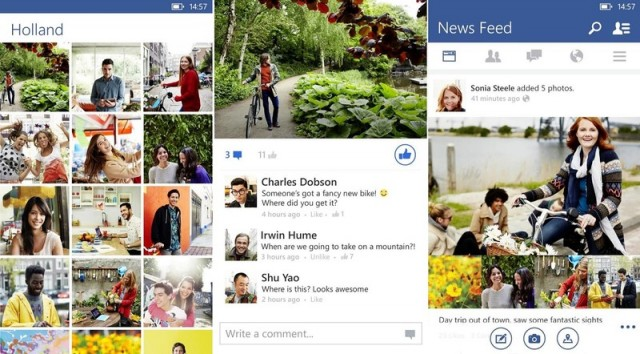 Facebook Beta for Windows Phone updated
