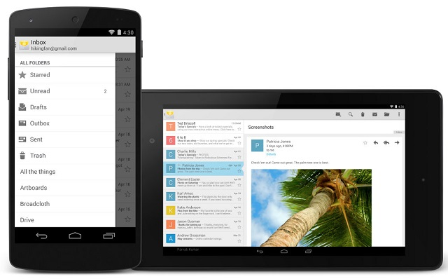 Google-Email-for-Android