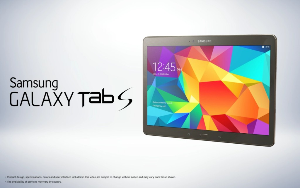Galaxy Tab S 10.5 leaked pictures