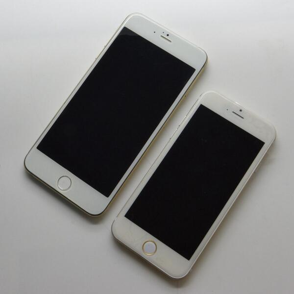 iPhone 6 and iPhone 6 phablet leaks