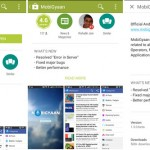 Google Play store for Android updated with Material Design UI