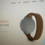 OnePlus OneWatch sketch leaks along with a picture from the website