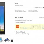 Xiaomi Mi3 goes out of stock in India after Flipkart crashes owing to high traffic
