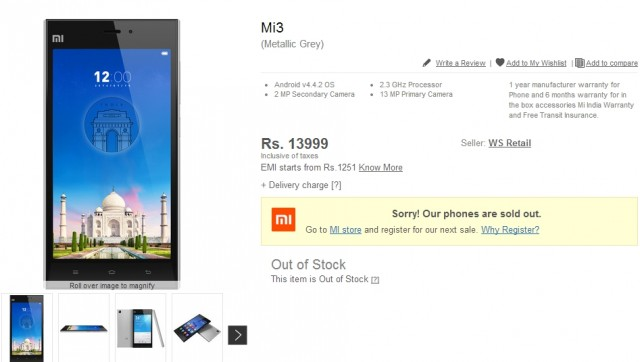 Xiaomi-Mi3-out-of-stock-e1406016328148