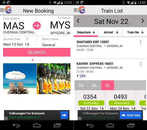 IRCTC-Connect-for-Android