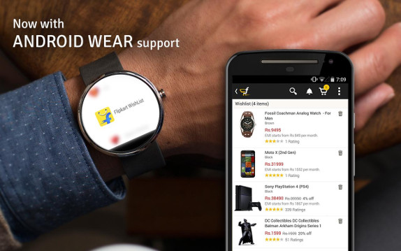 Flipkart Android Wear