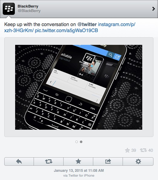 BlackBerry-tweeting-iPhone