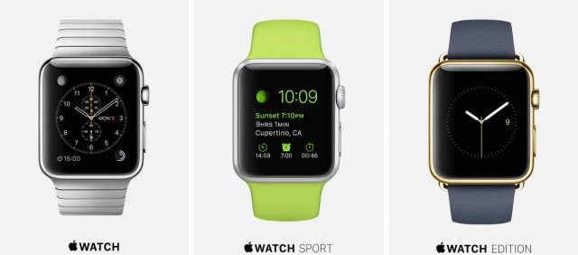 Apple Watch variants