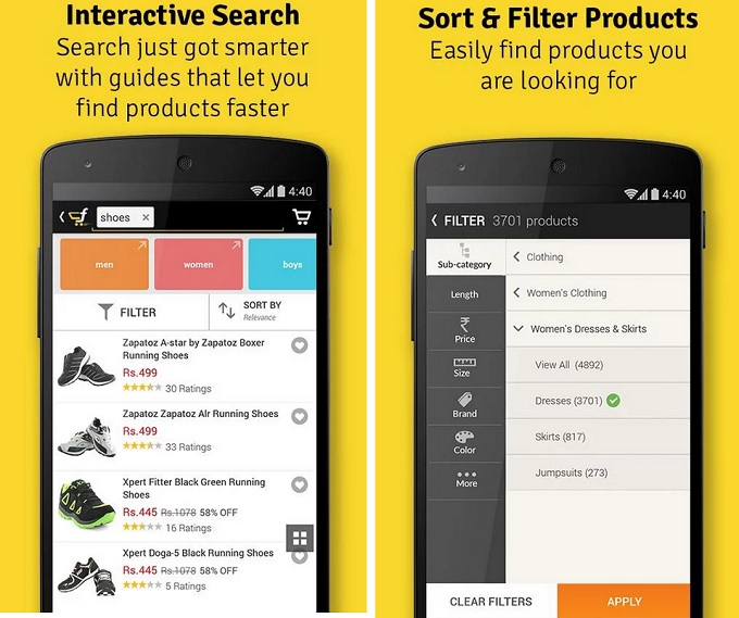 Flipkar app overview