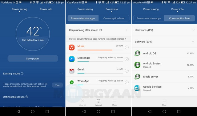 Huawei Honor 6 Plus Battery Test 2