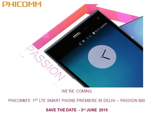 Phicomm-P660-India-launch-invite