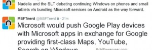 Microsoft may ditch Windows Phone and use Android for its handsets