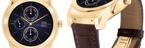 LG Watch Urbane Luxe limited edition 23 Karat gold Android Wear smartwatch announced