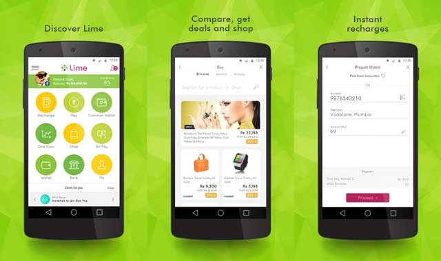 Axis-bank-lime-android-app-launch