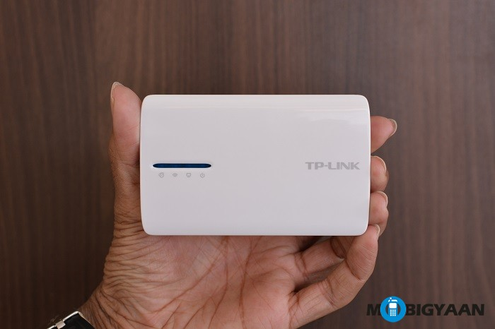 TP-Link Portable Battery Powered 3G4G Wireless N Router - Hands on images (2)