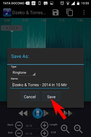 How to use ringtone maker to create ringtones from songs [Android]