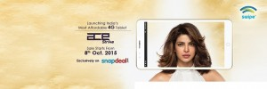 Swipe Ace Strike tablet with 4G LTE support launched in India for Rs. 6999