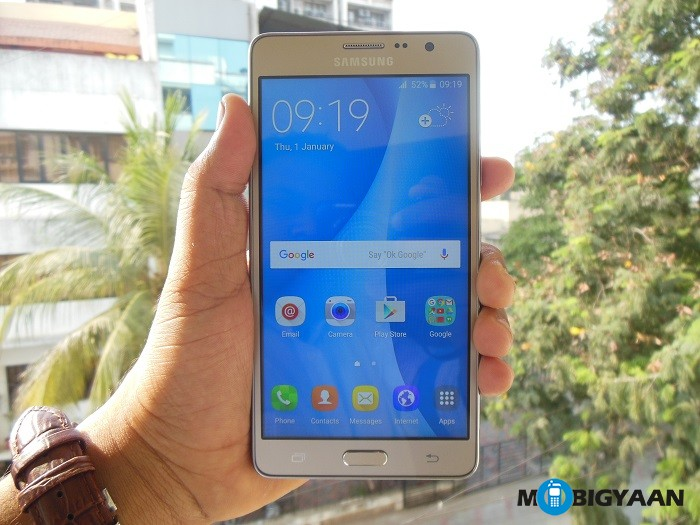 Samsung Galaxy On7 - Hands On (2)