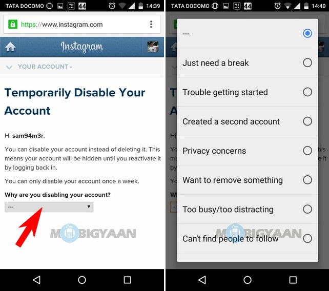 How to Delete Instagram Account [iOS] [Android] [Guide] (4)