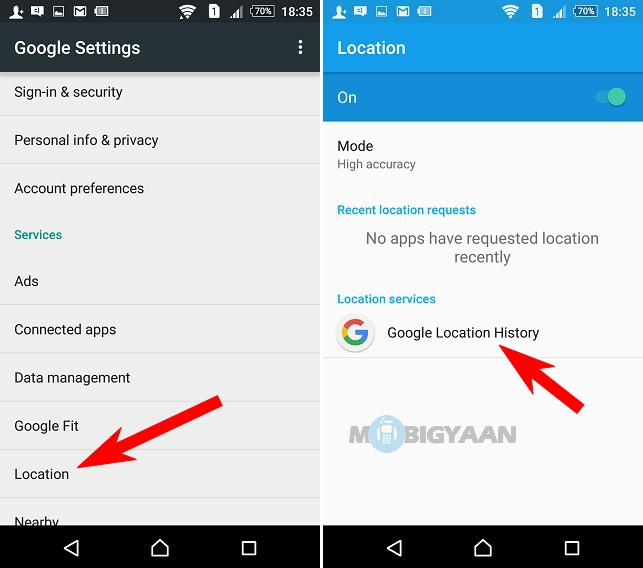 How to remove Google location history from your phone [Android] [Guide] (2)