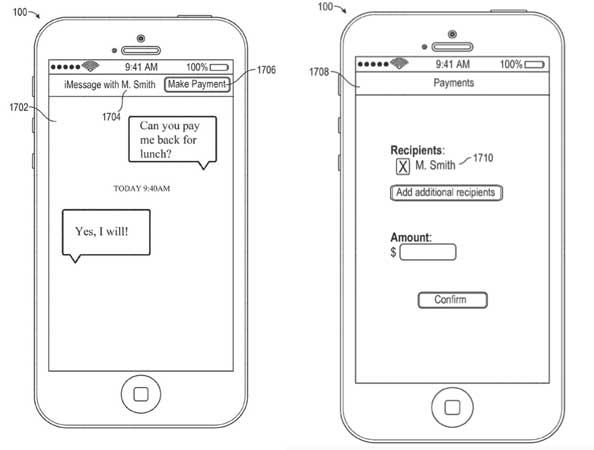 Apple-peer-payment-imessage-patent