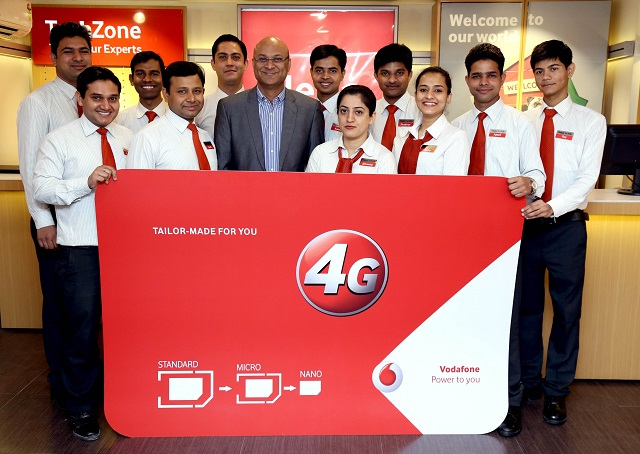 Vodafone-4G-ReadySIM-Launch-Delhi-NCR