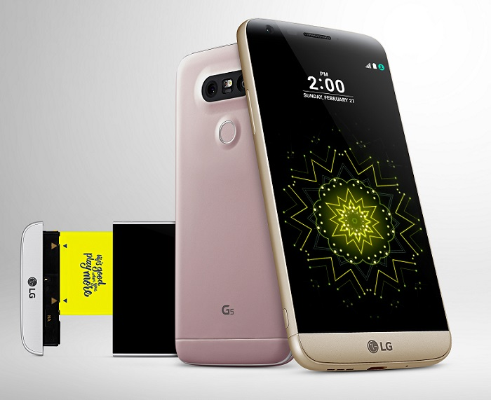 LG G5 unveiled, features 3 cameras, modular design