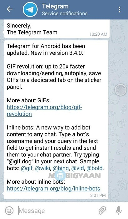 How to make a video into a gif on telegram