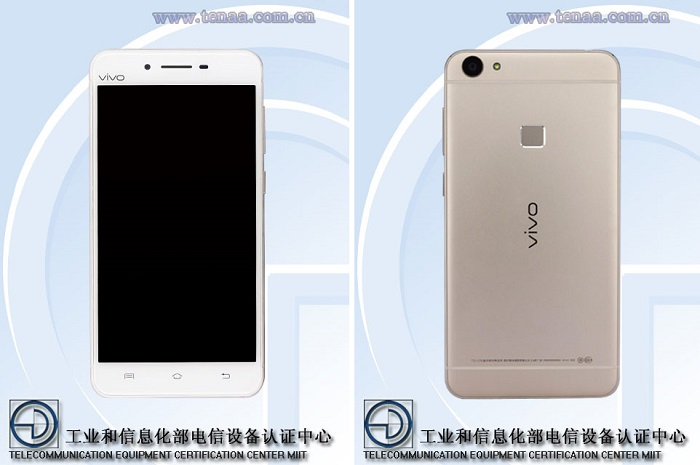 vivo-x6s-tenaa-certified-front-rear-view