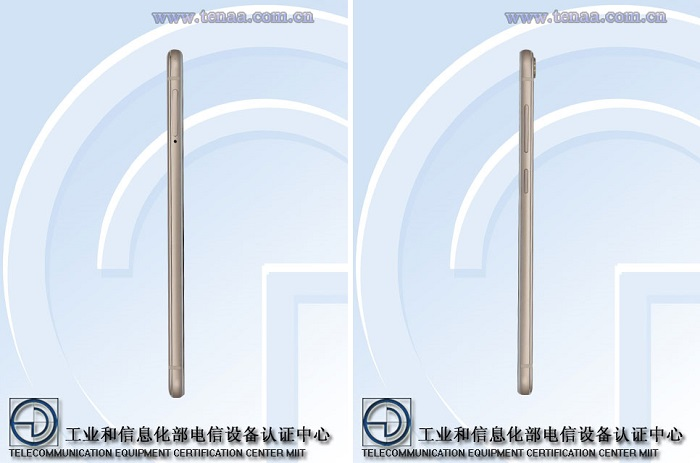 vivo-x6s-tenaa-certified-left-right-view
