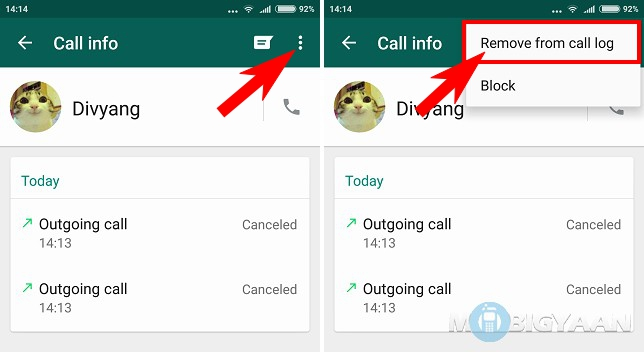How to clear WhatsApp call logs [Android Guide]