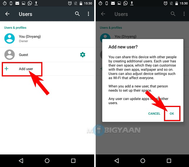 How to create user accounts on Android [Guide] (2)