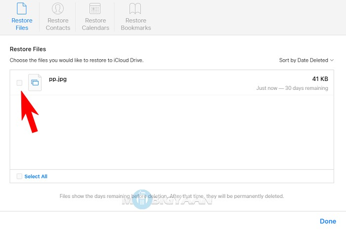 How to recover Deleted Files from iCloud [iOS Guide] (3)