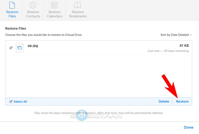 How to recover Deleted Files from iCloud [iOS Guide] (4)