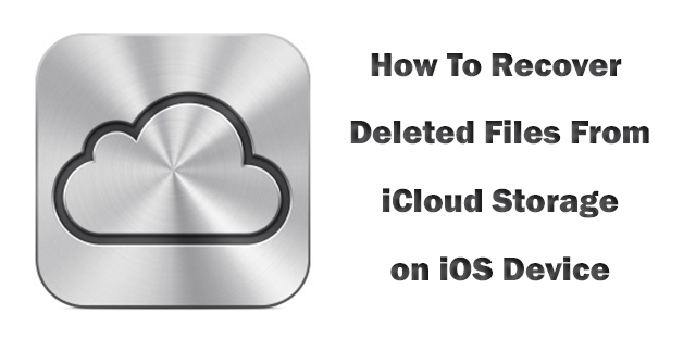 How to recover Deleted Files from iCloud [iOS Guide] (6)