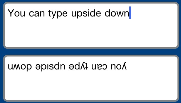 How to type upside down text [Android Guide] (4)
