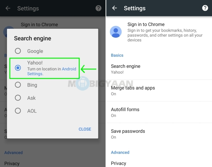 How to change default search engine in chrome - Google ...