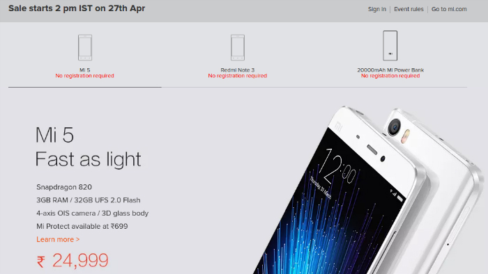 xiaomi-mi-5-mi-power-bank-redmi-note-3-open-sale