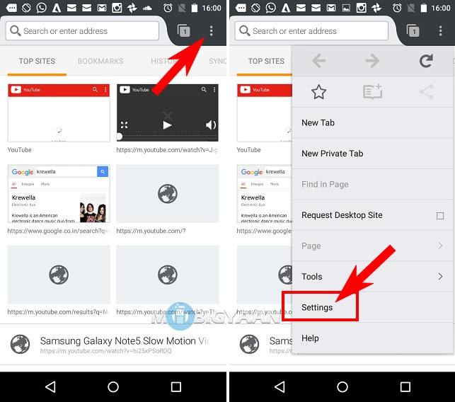 How to change default search engine in Firefox browser [Android guide] (1)