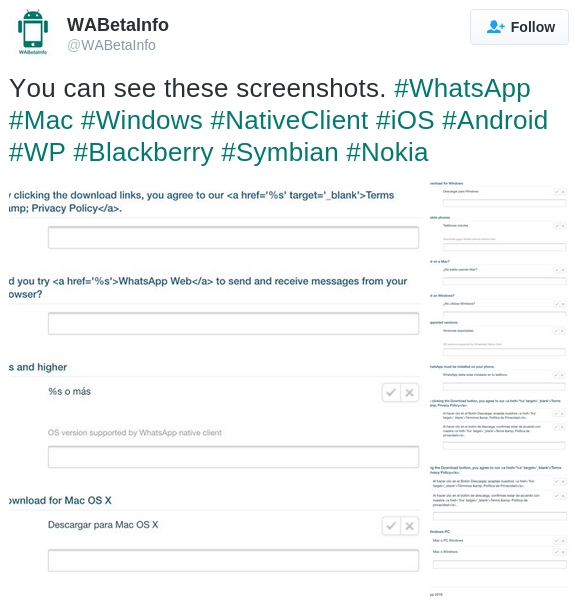 whatsapp-native-client-windows-os-x-tweet