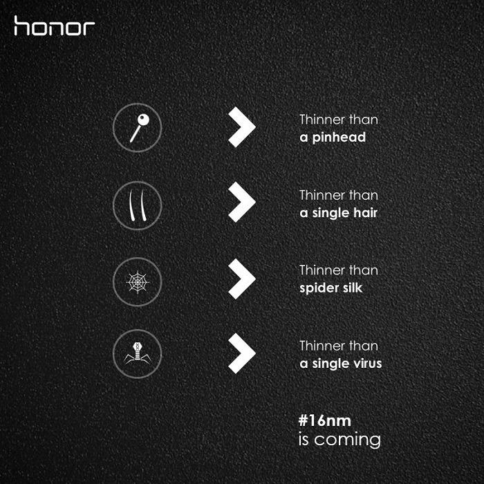 Honor's new smartphone will be running a 16nm HiSilicon Kirin SoC (1)