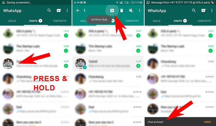 How to hide WhatsApp conversation from your phone [Guide] (4)