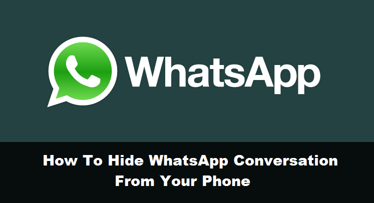 How to hide WhatsApp conversation from your phone [Guide] (5)