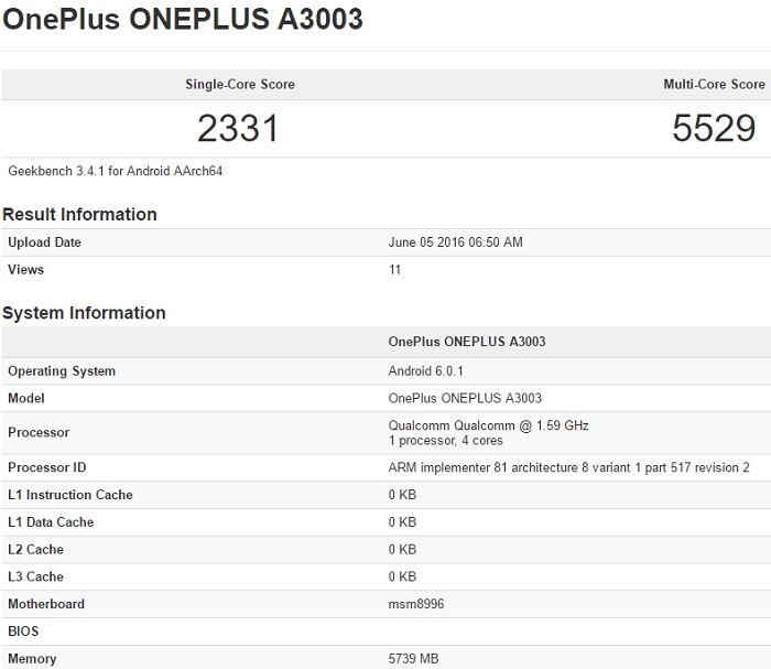 oneplus-3-a3003-geekbench