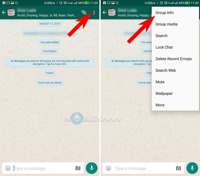 How to create WhatsApp group link Android Guide